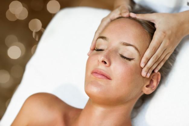 masaje para el rostro