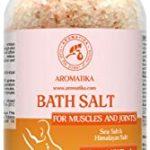 sales de baño para relajar músculos