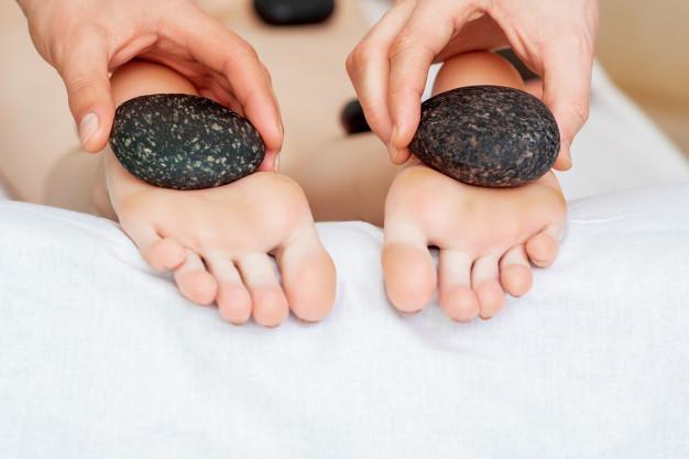 masajes para pies cansados