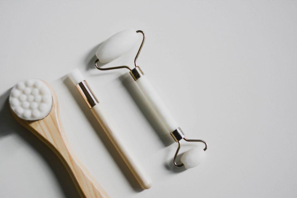 rodillo para masaje facial venta, rodillo de jade y gua sha