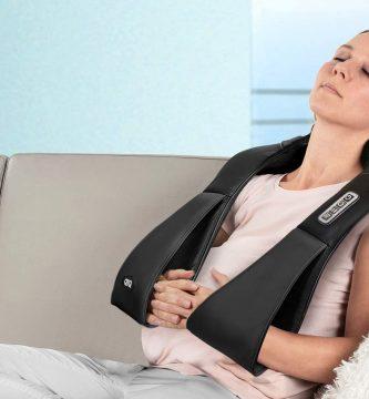 masajeador de espalda y cervical shiatsu