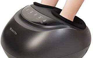 masajeador shiatsu pies y piernas