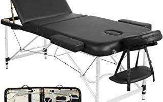 cama de masaje plegable
